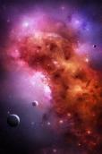 Фотообои 2-018 Космос