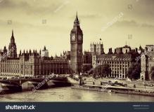 Фотообои Город 339162620 Лондон Вестминстер с Биг Бен