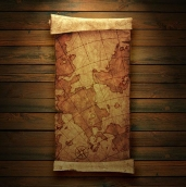 Фотообои Старинные карты 8-006
