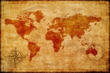 Фотообои Старинные карты 8-019