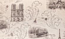 Обои Мегаполис 9050-14 виниловые на флизелиновой основе (1,06х10,05м)