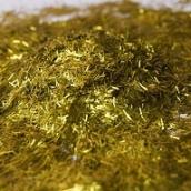 Люрекс золото 0,2*2мм SВ206 (палочки)